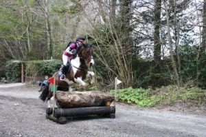 Ruth & Sioux competing at the National Hunter Trials