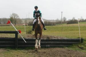 Rosaleen & Hazel at National Hunter Trials 2013