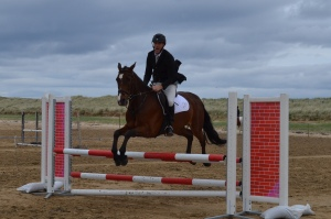 Daniel & Dandy on their way into the Jump-Off